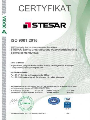 STESAR ISO 9001 polnisch_e (2)