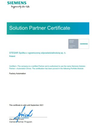200930 Siemens Solution Partner